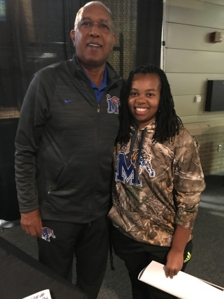 HC Tubby Smith and RKS Insider Glynnis King.